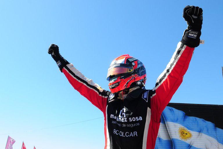 Agustín Canapino tuvo un doble festejo en Roca