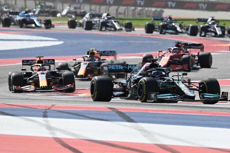 Duelo caliente por el liderazgo entre Verstappen y Hamilton: vuelta a vuelta, el GP de EE.UU. de la Fórmula 1