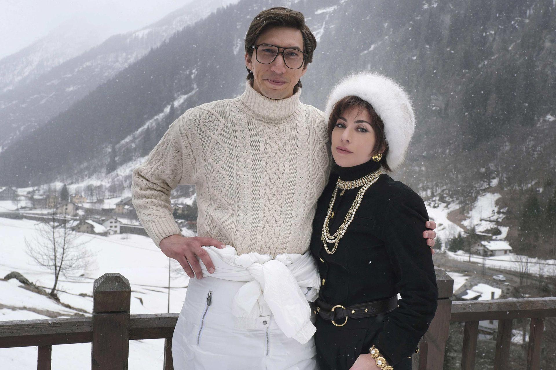 Adam Driver y Lady Gaga protagonizan la película The House of Gucci, basada en el libro de Sara Gay Forden