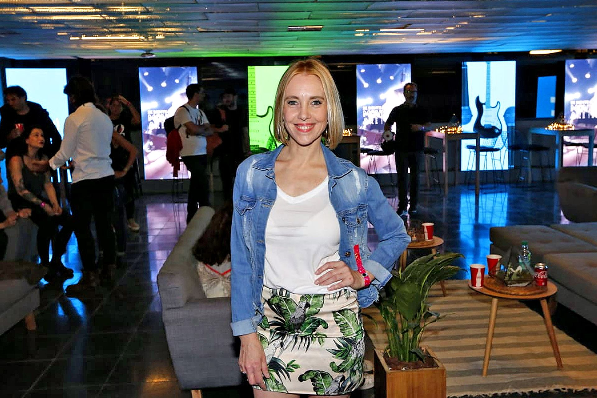 La periodista Lorena Toso