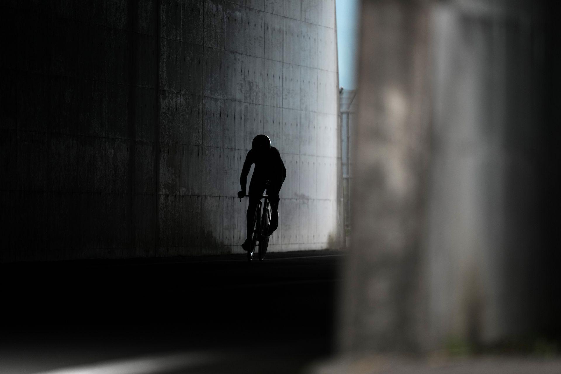 Lisa Brennauer, de Alemania en la prueba de ciclismo contra reloj
