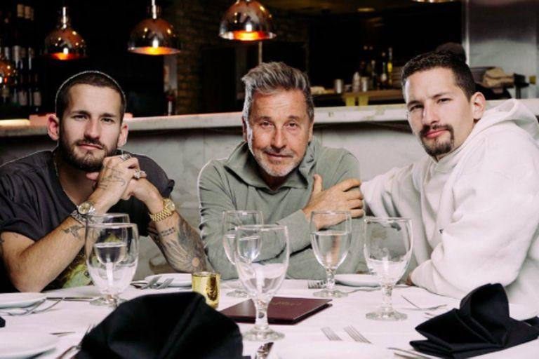 Los Montaner llegaron a la Argentina para grabar La Voz y desataron polémica