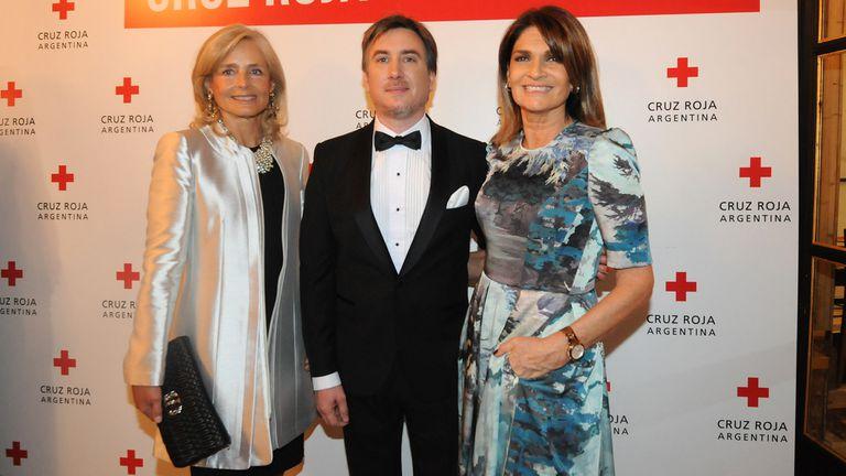 Los famosos en la gala a beneficio de la Cruz Roja Argentina