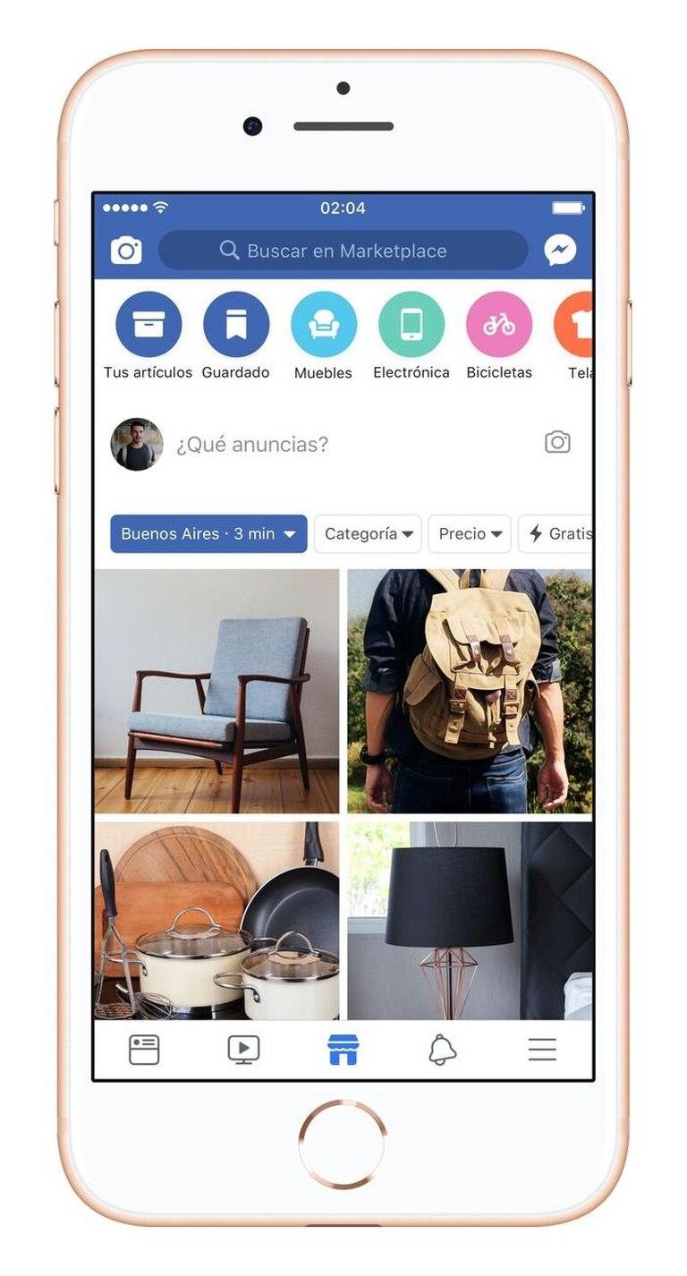Facebook Marketplace es un servicio de compraventa de objetos nuevos o usados, abierto a todos los usuarios del país