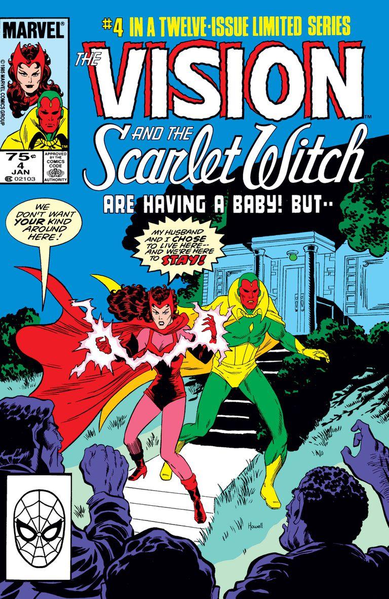 En los ochenta, Visión y la Bruja Escarlata protagonizaron dos colecciones que sirven de inspiración para la serie