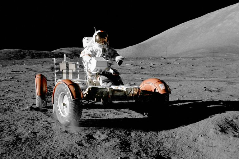 A 50 años del primer vehículo eléctrico lunar de la NASA