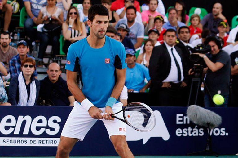 Novak Djokovic no jugará la serie en Argentina