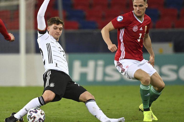 Festejo. Klimowicz, hijo de N° 9 y campeón con Alemania de la Eurocopa Sub 21