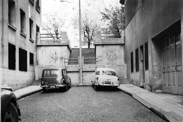 El Pasaje Seaver en 1966.