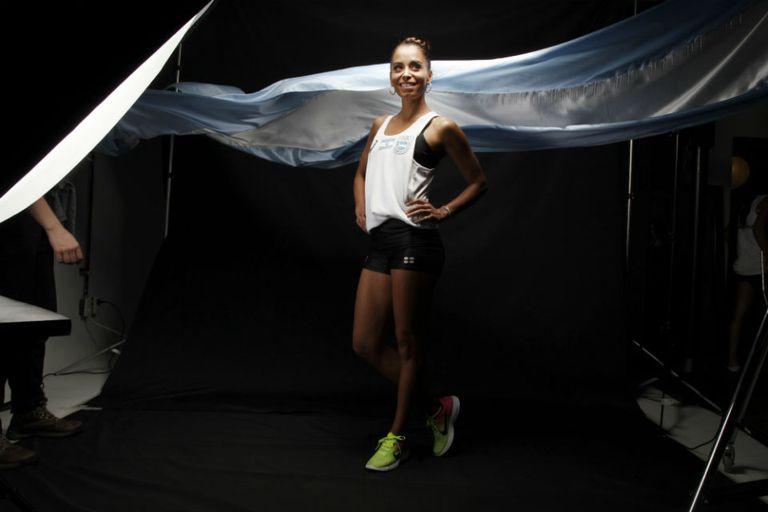 Marita Peralta, dos veces olímpica