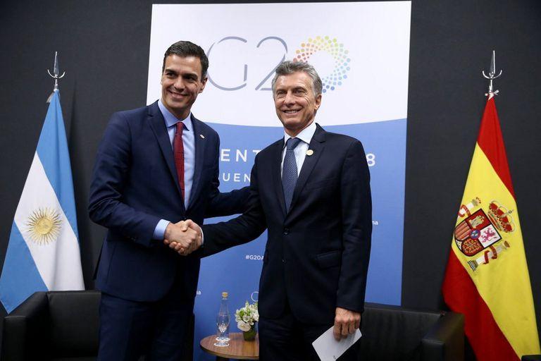 El superclásico tiñó el encuentro con el presidente español