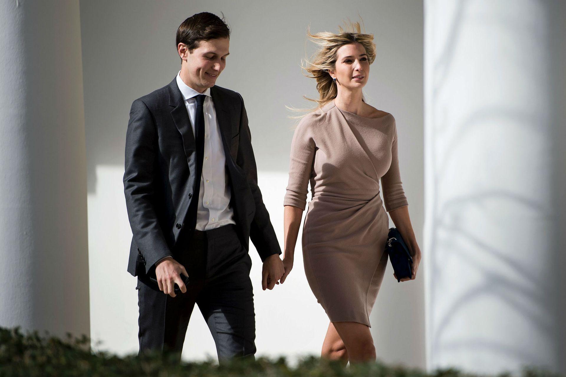 Jared e Ivanka en la Casa Blanca