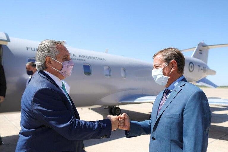 El presidente Alberto Fernandez en Mendoza