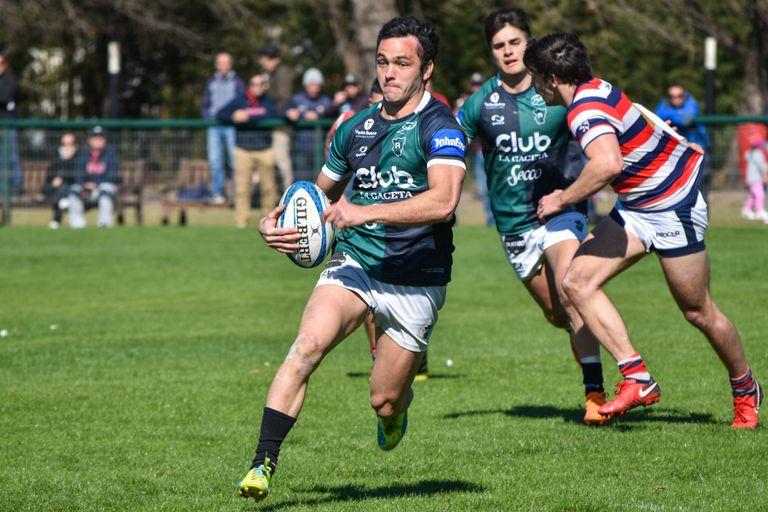 Augusto López Salas, una de las figuras de Tucumán Rugby