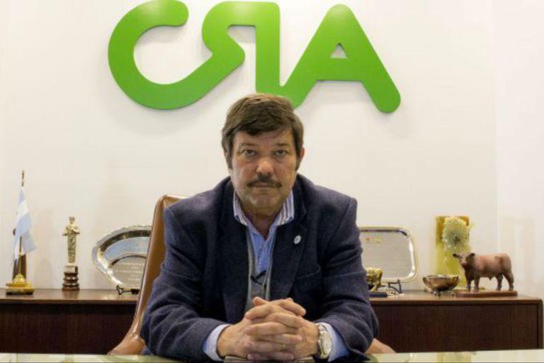 Dardo Chiesa, presidente de Confederaciones Rurales Argentinas (CRA)
