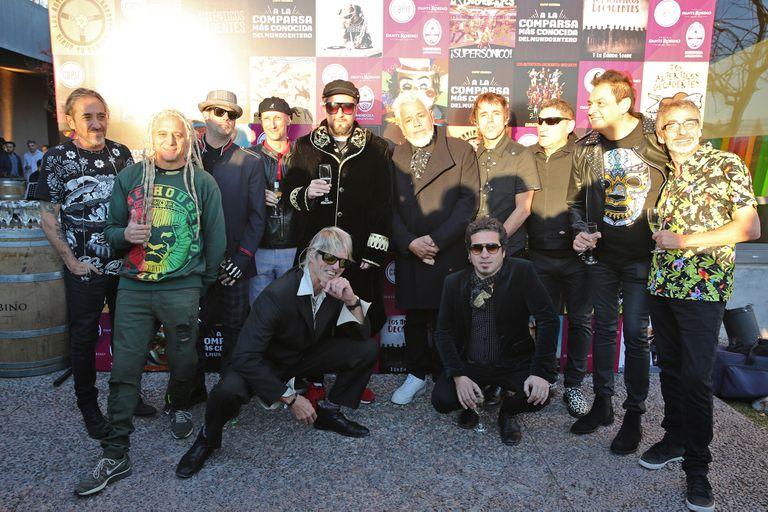 Los Auténticos Decadentes tuvieron su homenaje antes de los Premios Gardel