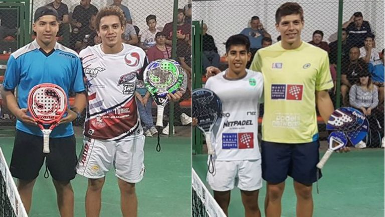 Aguirre-Gutierrez y Chingotto-Tello, dos de las parejas clasificadas