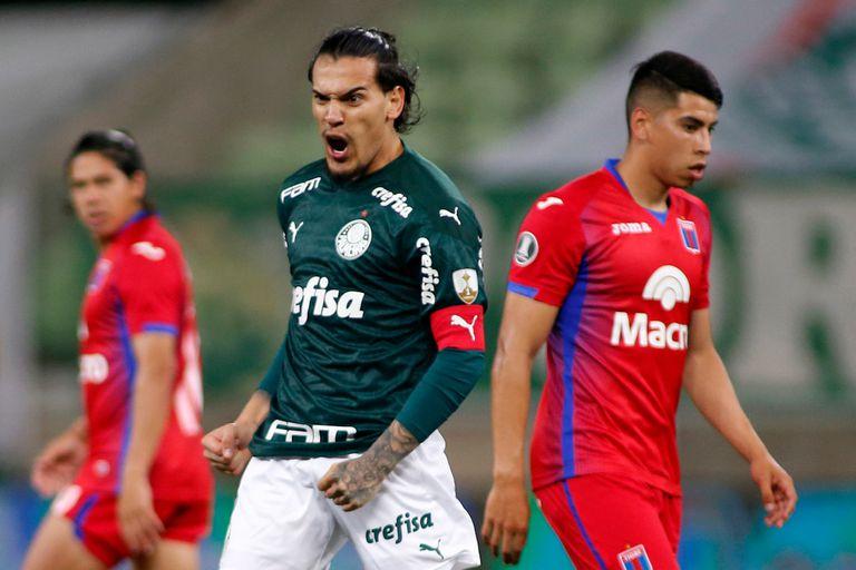Palmeiras-Tigre. El Matador perdió 5-0 en su despedida de la Copa Libertadores