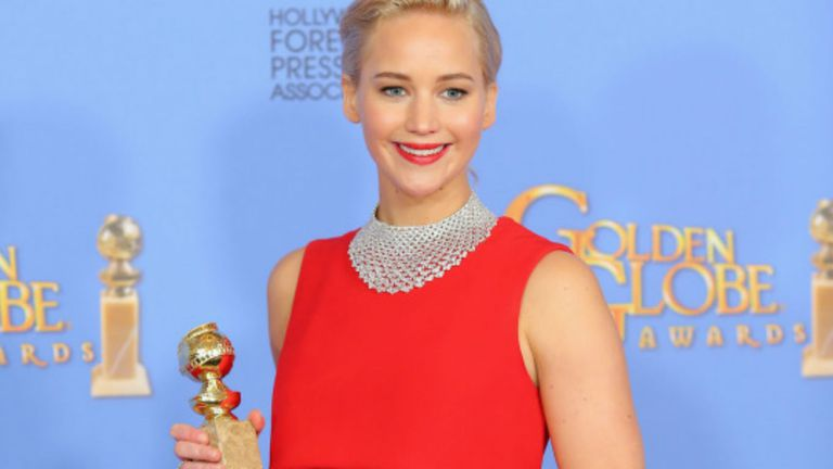 Jennifer Lawrence, mejor actriz en comedia por una película que es un drama