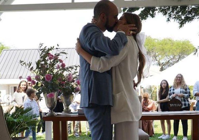 Todos los detalles de la boda de Abel Pintos y Mora Calabrese