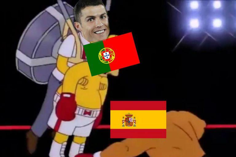 Mundial 2018: Los memes de Cristiano Ronaldo con De Gea como apuntado