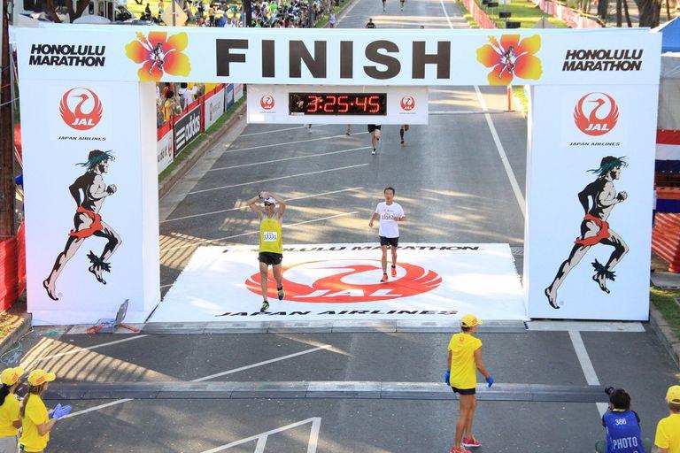 Honolulu y otra maratón para la cuenta personal de Javier Frega