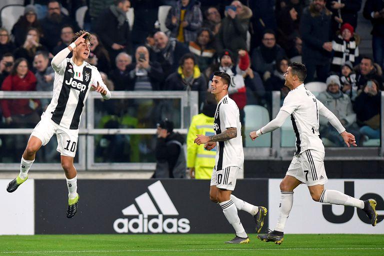 Paulo Dybala volvió a jugar, hizo un golazo y Juventus ganó por 3-0