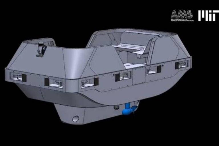 El proyecto Roboat aspira a desarrollar nuevas formas de navegar en todo el mundo sin una mano humana en el timón