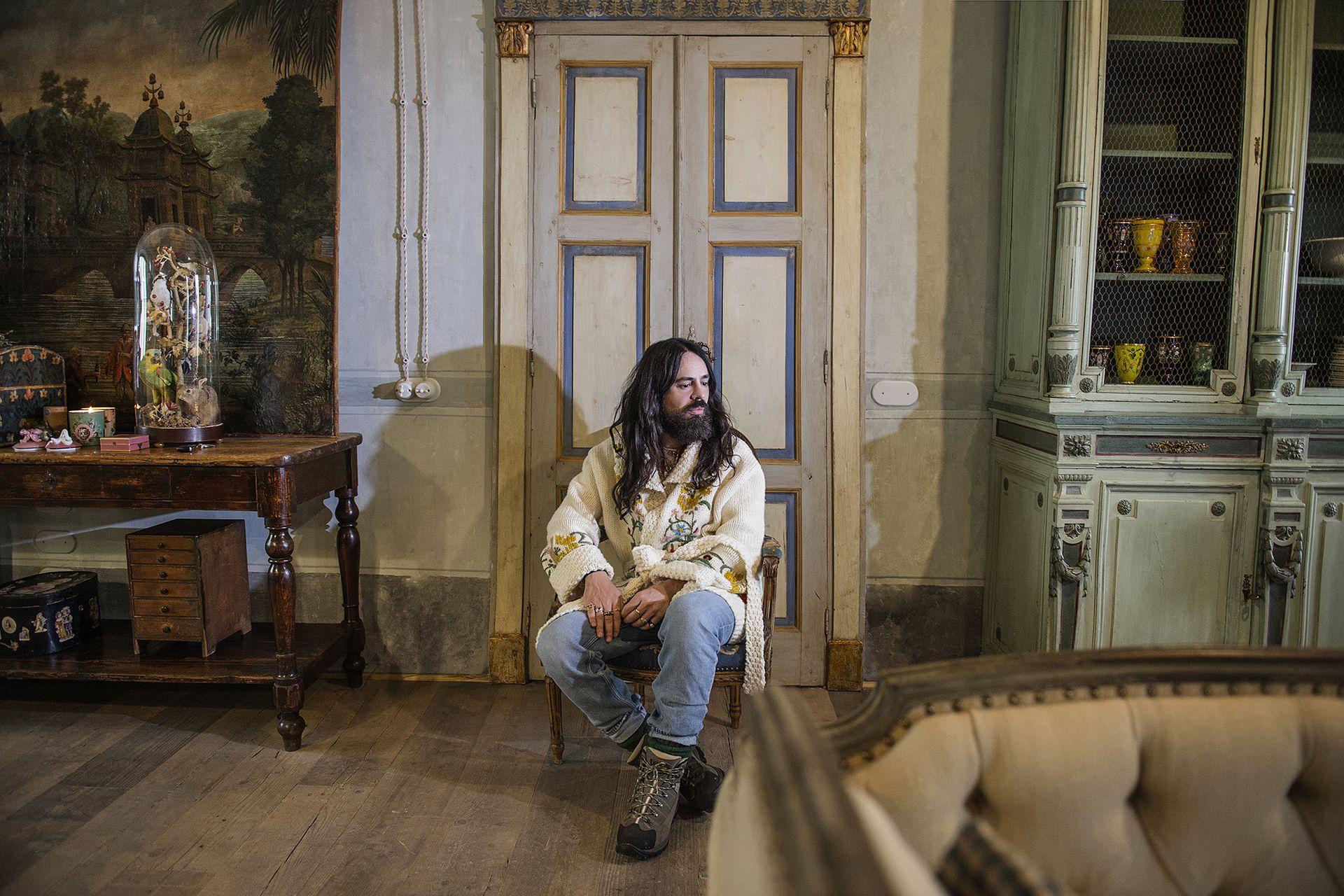"""Alessandro Michele presentó el corto """"Aria"""" en coincidencia con el lanzamiento de su última colección"""