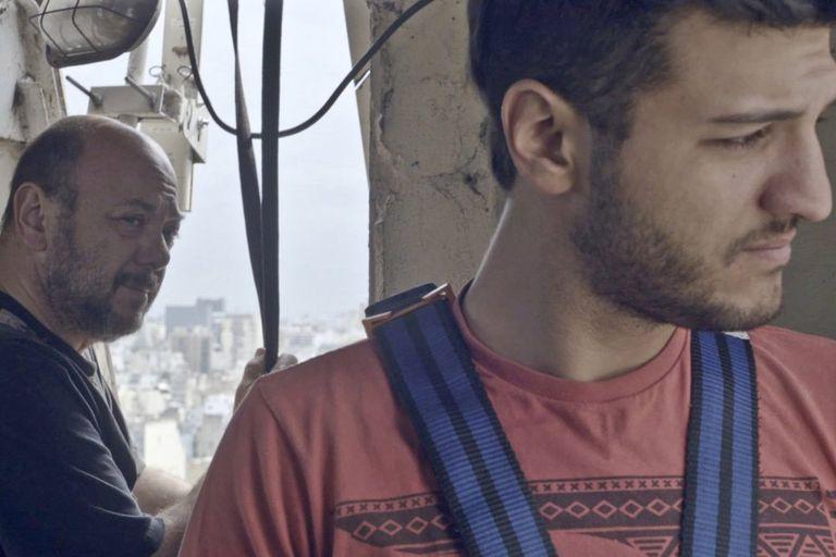 Luis y Antonio Ziembrowski, en el primer corto