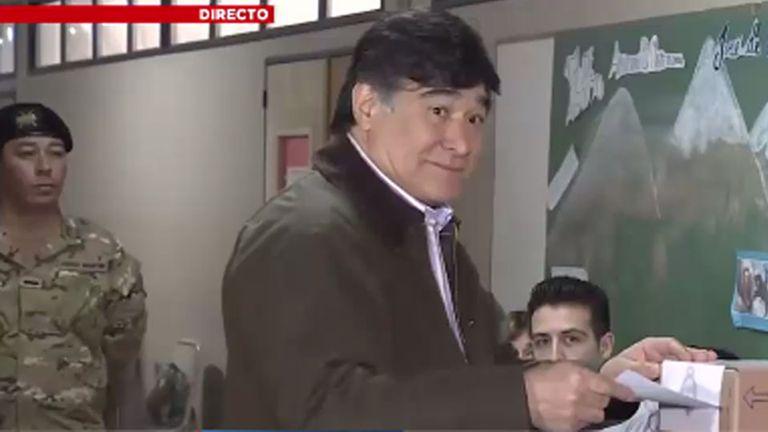 Zannini votó en Río Gallegos