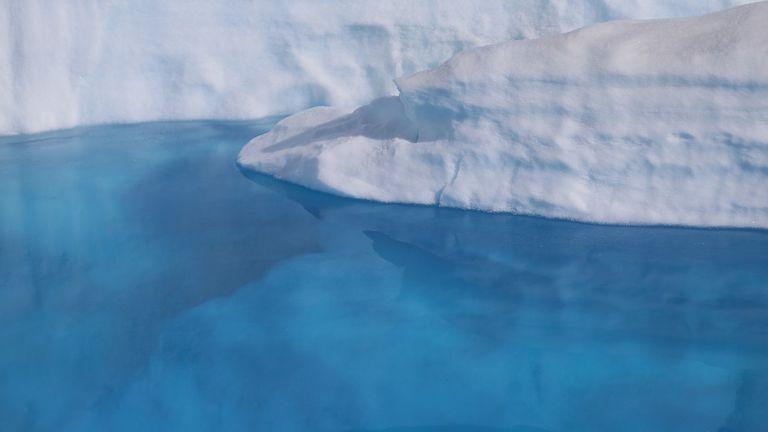 """El derretimiento de la capa polar de Groenlandia es uno de los posibles puntos de no retorno o """"tipping points"""" que podría desestabilizar otros ecosistemas"""