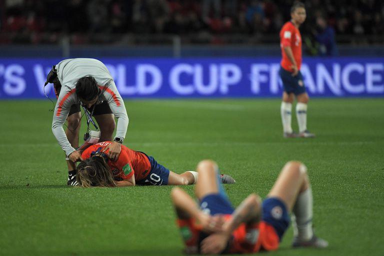 La decepción de las chilenas, que tuvieron la gran oportunidad en el final, pero quedaron eliminadas