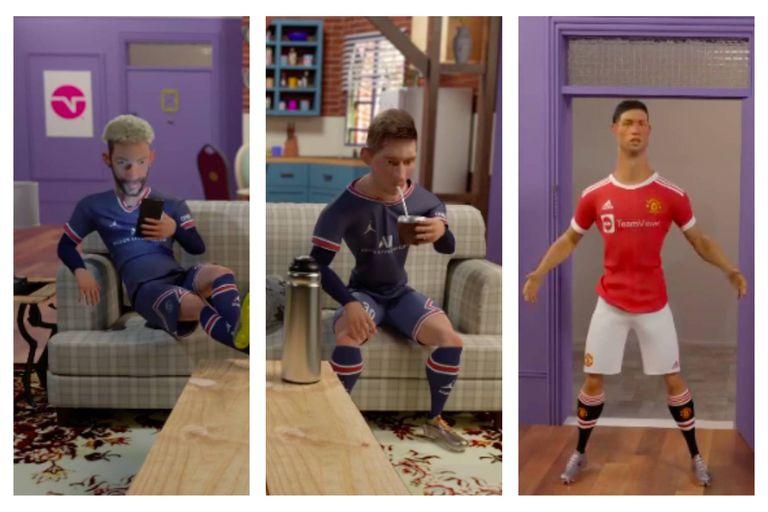 La divertida serie animada de la televisión brasileña que parodia a Friends