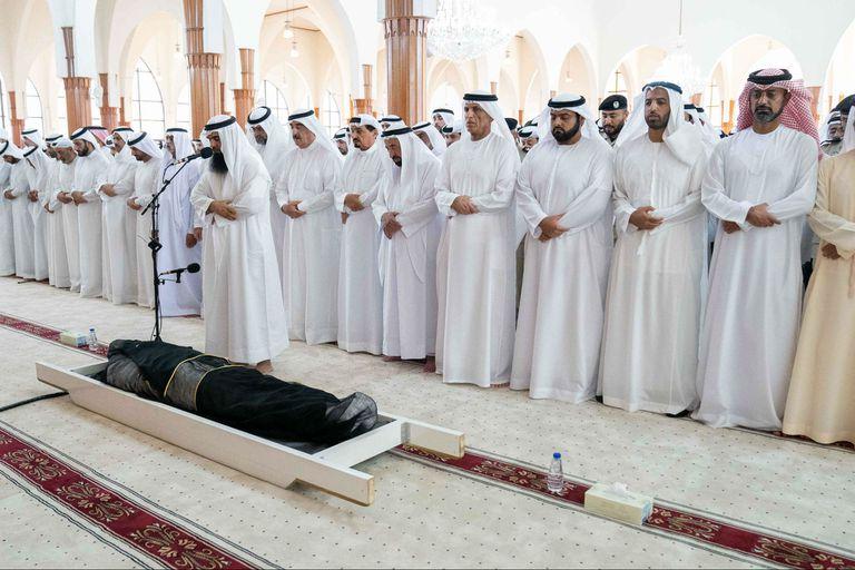 El funeral de Al-Qasimi, hoy en Emiratos Árabes Unidos