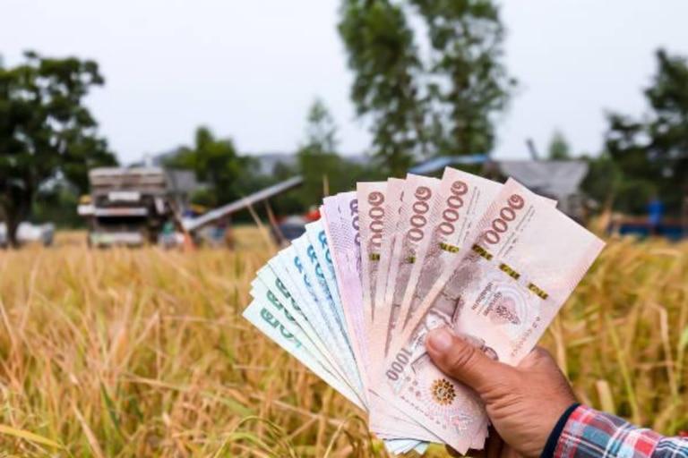 Los billetes en Tailandia son denominados bath