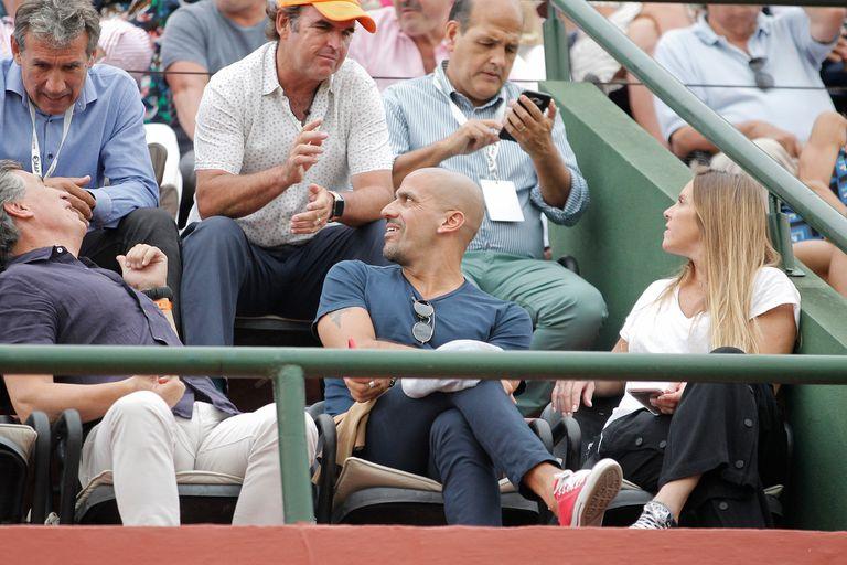 Verón tiene amigos en otros deportes, como el polista Eduardo Heguy; del tenis quiere tener a Rafael Nadal en una exhibición en el estadio Uno.