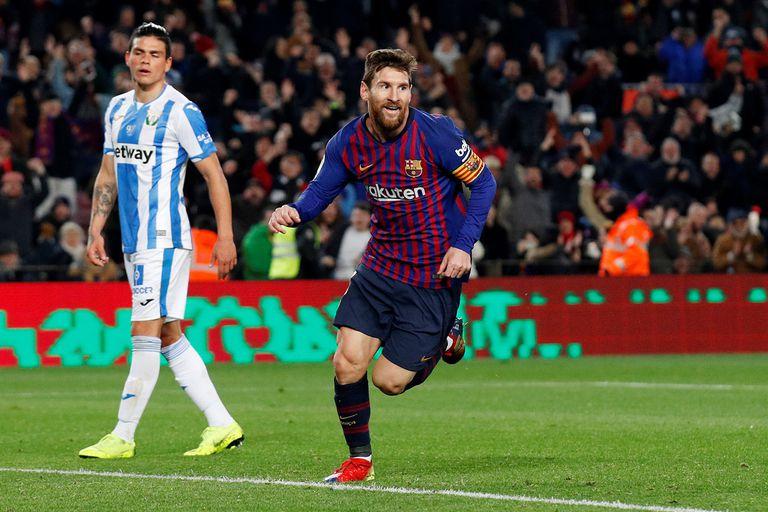 Barcelona-Leganés, Liga de España: entró Messi, anotó un gol y el líder ganó 3-1