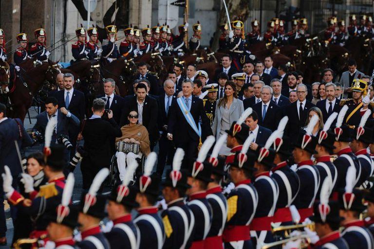 Mauricio Macri, tedeum 25 de mayo; Catedral Metropolitana; cardenal Mario Poli