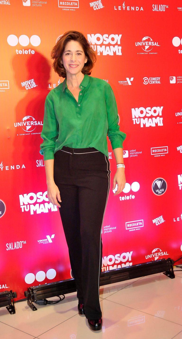 Laura Novoa fue una de las famosas que disfrutó de la función