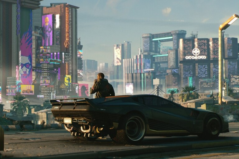 Con una estética futurista ambientada en una ciudad con marquesinas y luces de neón, las partidas de Cyberpunk 2077 pueden ser problemáticas para las personas que sufren de epilepsia