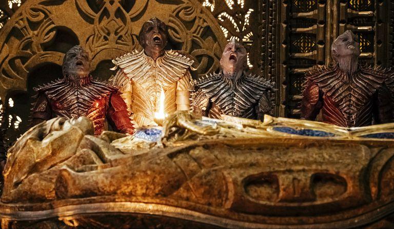 Los klingon, viejos conocidos del universo de Star Trek, son presentados bajo una nueva luz en Discovery