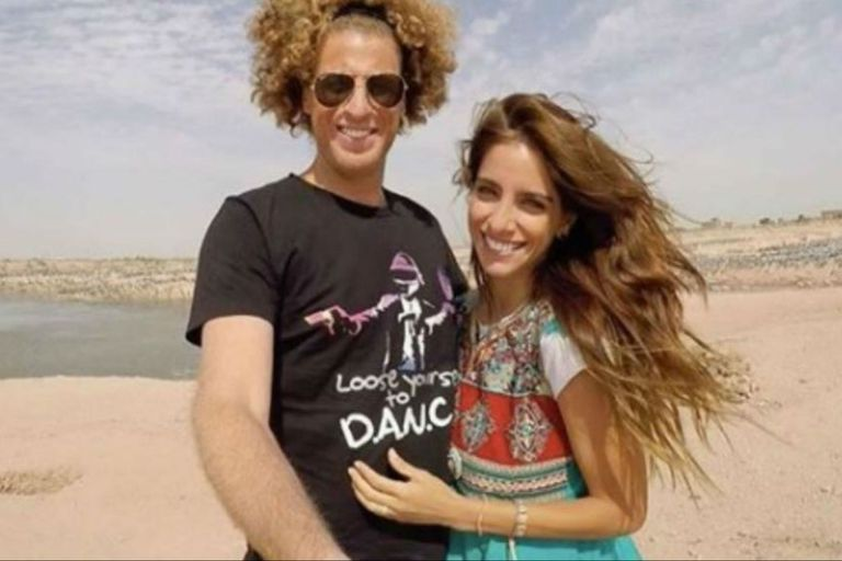 Rulo Schijman junto a su pareja, Gabriela Sari
