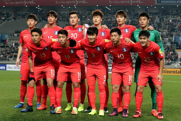 La selección de Corea del Sur presentó la lista de 23 convocados para el Mundial