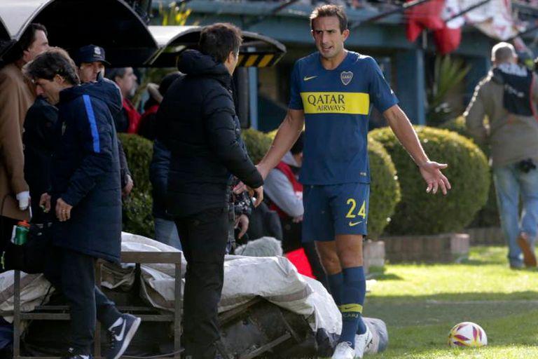 Carlos Izquierdoz desplazó a Goltz en la zaga central