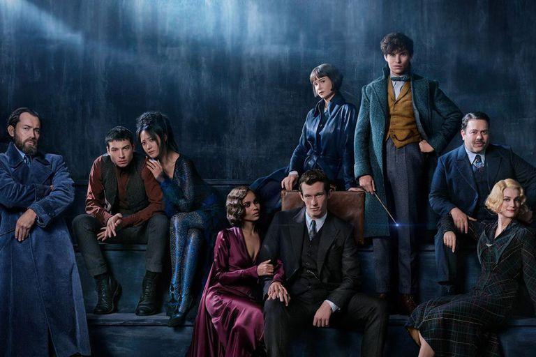 El elenco de la nueva película Animales fantásticos: los crímenes de Grindelwald