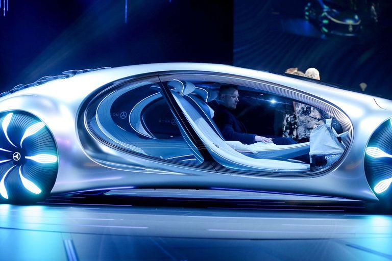 Parabrisas: en el auto autónomo mostrará mapas 3D, videollamadas... y publicidad