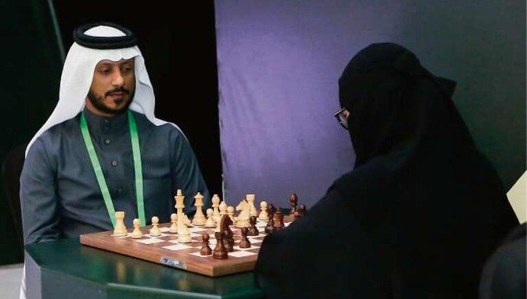 En Riad, un torneo de ajedrez inédito para el país