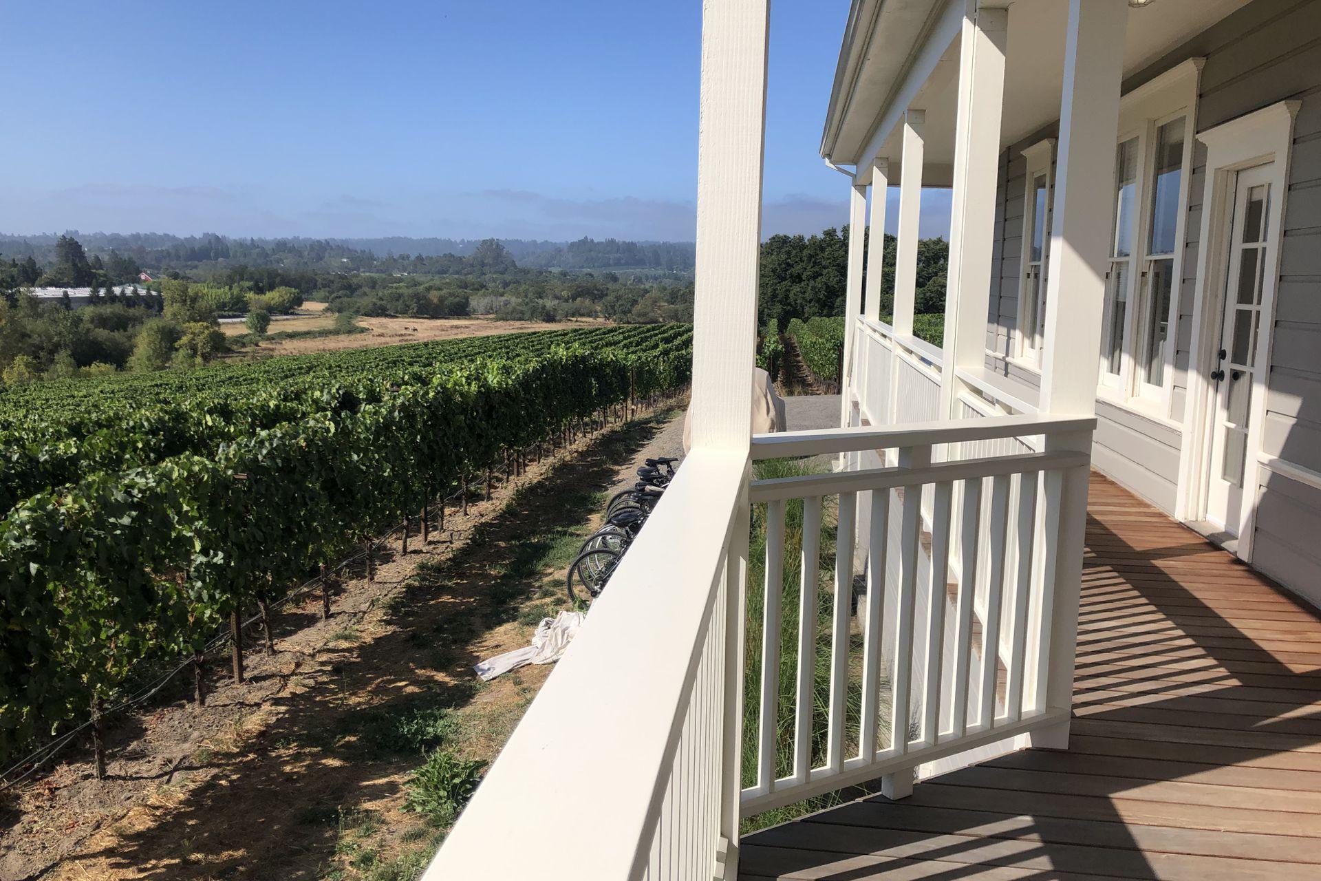 Un nuevo hogar, rodeado de valles, colinas y viñedos.