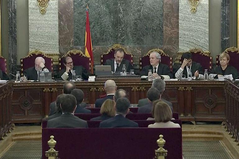 España: comenzó el histórico juicio contra los políticos separatistas